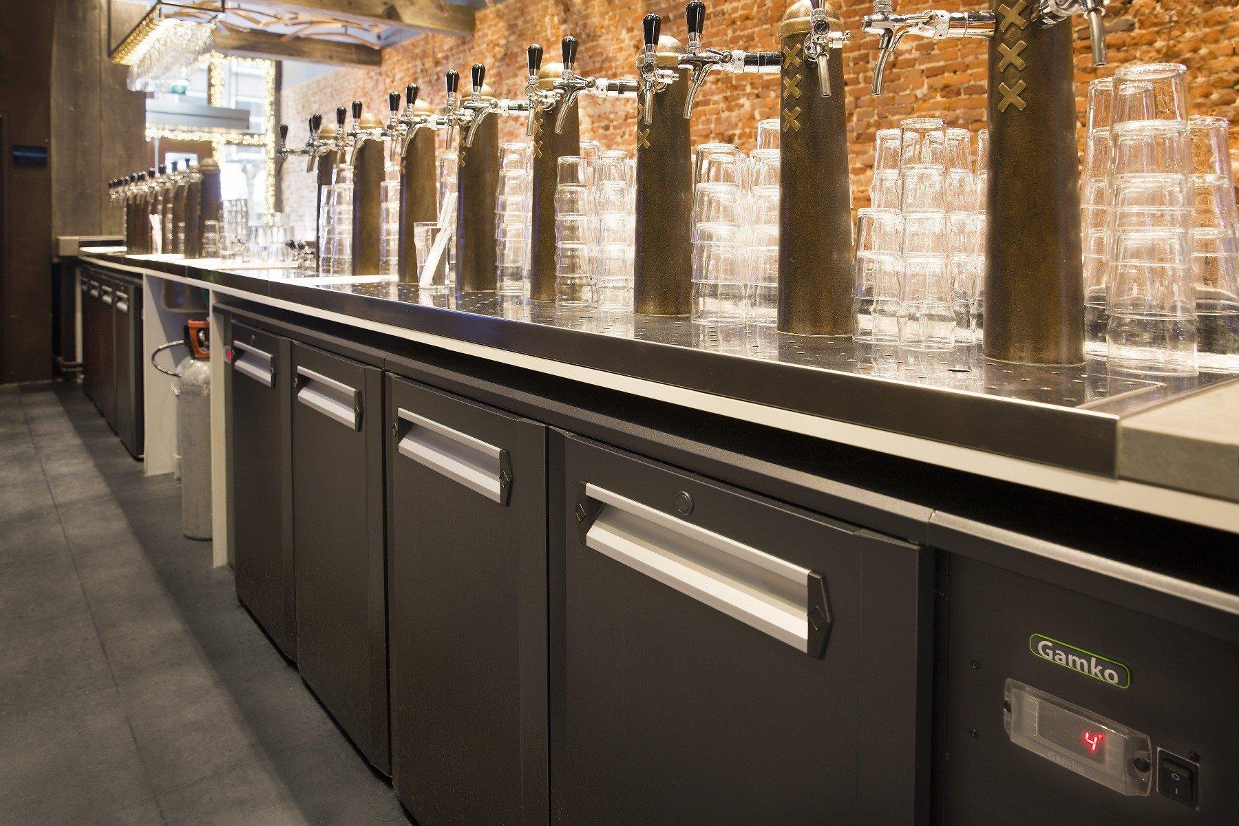 Gamko fustenkoelingen onder bar