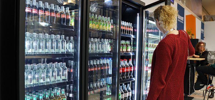 Energiezuinige glasdeur koeling voor de horeca